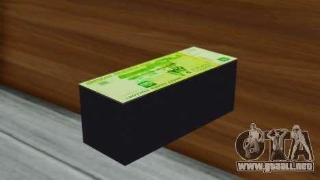 3000 Rublos para GTA San Andreas segunda pantalla