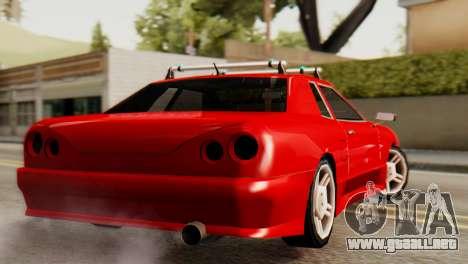 Elegy Korch Stock Wheel para GTA San Andreas left