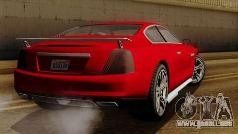 GTA 5 Albany Alpha v2 para GTA San Andreas left