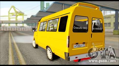 GAZelle 3221 De 2007 Final para GTA San Andreas left