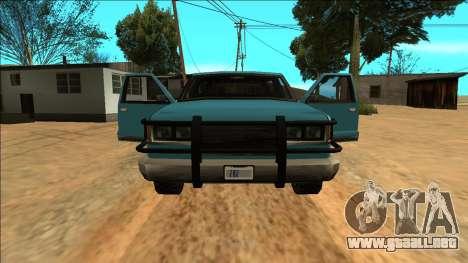 New Yosemite para las ruedas de GTA San Andreas