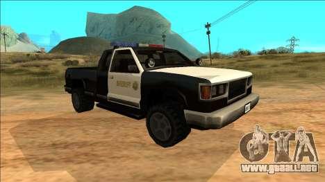 New Yosemite Police v2 para GTA San Andreas left