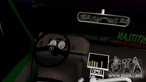 Mercedes-Benz Boxer para la visión correcta GTA San Andreas
