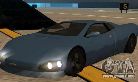 GTA 3 Infernus SA Style v2 para GTA San Andreas left