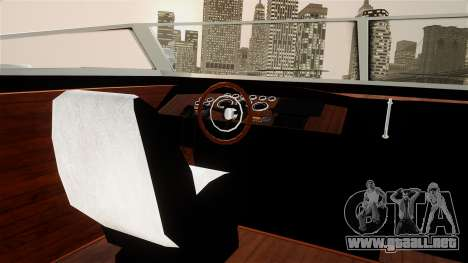 Lampadati Toro from GTA 5 para GTA 4 visión correcta