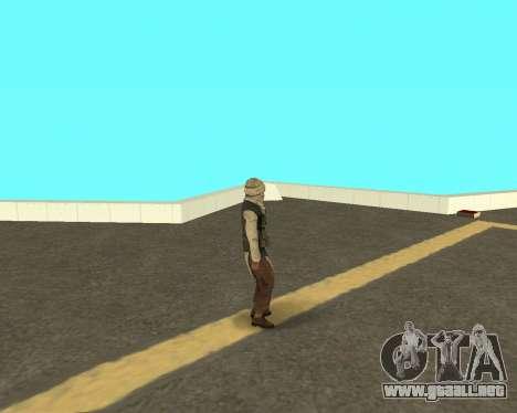 Nueva armeec para GTA San Andreas tercera pantalla