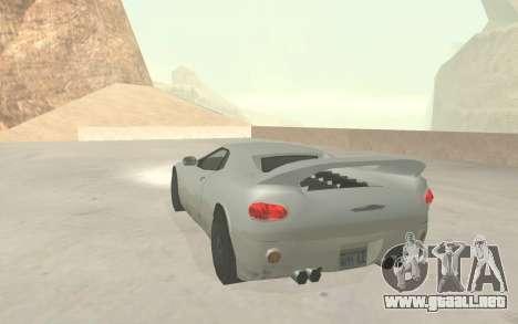 GTA 3 Infernus SA Style v2 para vista lateral GTA San Andreas