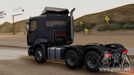 Renault Premuim 6x4 para GTA San Andreas left