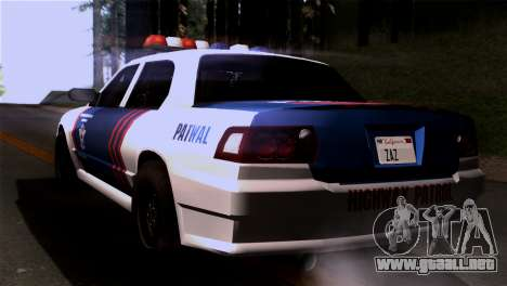 Indonesian Police Type 2 para GTA San Andreas left
