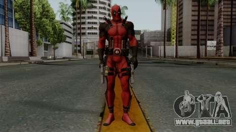 Deadpool para GTA San Andreas segunda pantalla
