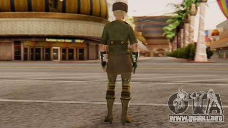 Sonya Motherland [MKX] para GTA San Andreas tercera pantalla