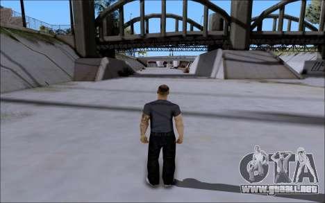 La Cosa Nostra Skin Pack para GTA San Andreas segunda pantalla