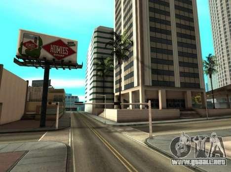 Metallic ENB Series para GTA San Andreas sucesivamente de pantalla