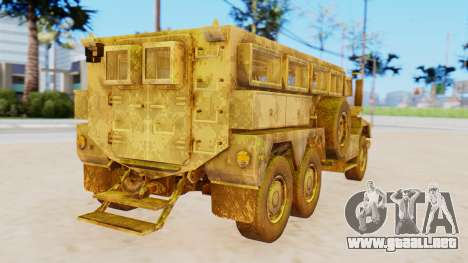 MRAP Cougar from CoD Black Ops 2 para GTA San Andreas left