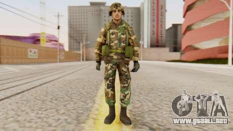 Soldados del ejército de los estados UNIDOS para GTA San Andreas segunda pantalla