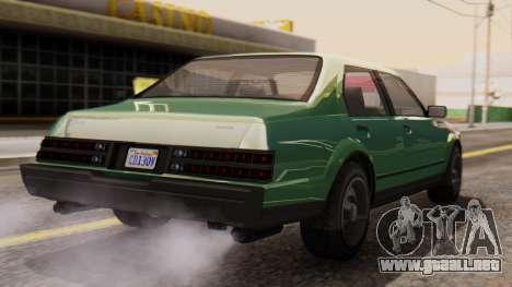 GTA 5 Albany Esperanto para GTA San Andreas left