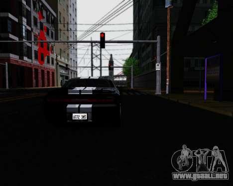 ENB for Low PC para GTA San Andreas segunda pantalla