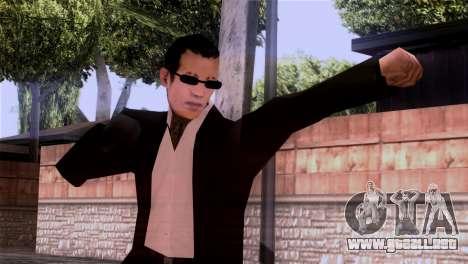 La piel de la mafia para GTA San Andreas