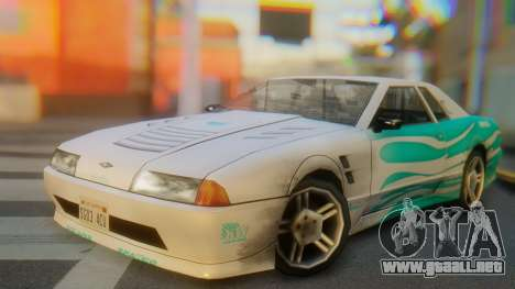 Elegy New Paintjob para GTA San Andreas
