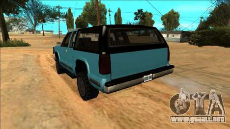 New Yosemite para vista inferior GTA San Andreas