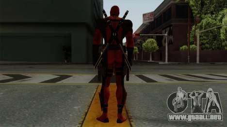 Deadpool para GTA San Andreas tercera pantalla