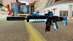 Fulmicotone M4 para GTA San Andreas