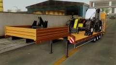 Trailer Fliegl Cargo para GTA San Andreas