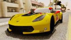 Chevrolet Corvette C7R GTE 2014 PJ2 para GTA San Andreas