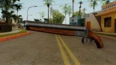 Original HD Sawnoff Shotgun para GTA San Andreas