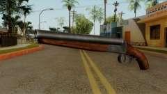 Original HD Sawnoff Shotgun para GTA San Andreas