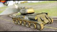 Real 102 Rudy Poland Tanks para GTA San Andreas