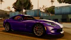Dodge Viper SRT GTS 2013 IVF (HQ PJ) HQ Dirt para GTA San Andreas