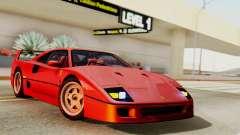 Ferrari F40 1987 with Up Lights