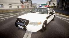 Ford Crown Victoria 2008 New Alderney Sheriff para GTA 4