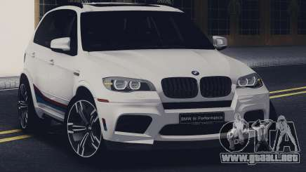 BMW X5M MPerformance Packet para GTA San Andreas