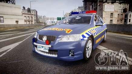 Holden VE Commodore SS Highway Patrol [ELS] v2.1 para GTA 4