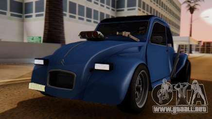 Citroen 2CV (jian) Drag Style Edition para GTA San Andreas