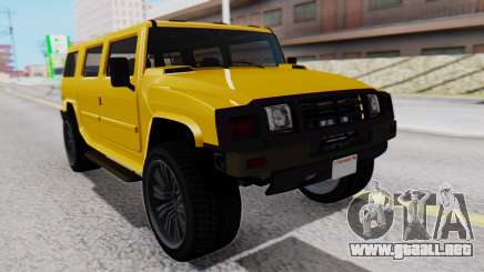 GTA 5 Patriot para GTA San Andreas