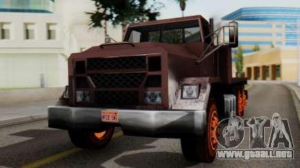 Flatbed 1.0 para GTA San Andreas