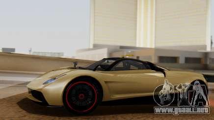 Pegassi Huayra Osiris para GTA San Andreas