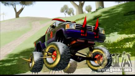 Predaceptor Monster Truck (Saints Row GOOH) para GTA San Andreas