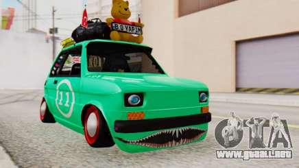 Fiat 126 bis B. O. de la Construcción para GTA San Andreas