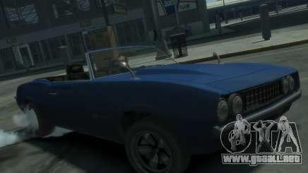 Declasse Vigero Cabrio para GTA 4