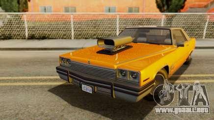GTA 5 Albany Manana para GTA San Andreas