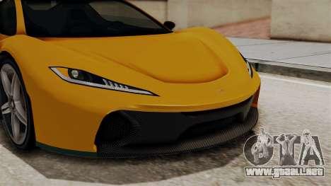 GTA 5 Progen T20 IVF para visión interna GTA San Andreas