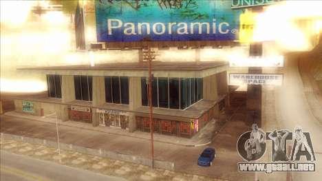 ENB Series Visión Clara v1.0 para GTA San Andreas sucesivamente de pantalla