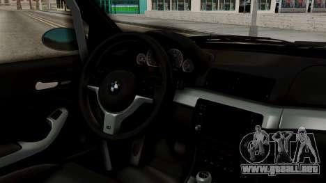 BMW M3 E46 GTR 2005 Stock para la visión correcta GTA San Andreas