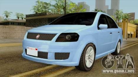 GTA 5 Asea DeClasse v2 para GTA San Andreas