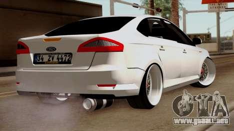 Ford Mondeo para GTA San Andreas left