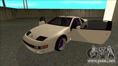 Nissan 300ZX Drift Monster Energy para GTA San Andreas vista hacia atrás